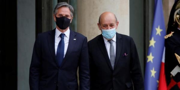 ادامه تنش دیپلماتیک آمریکا و فرانسه؛ نشست با حضور وزرای خارجه دو کشور لغو شد